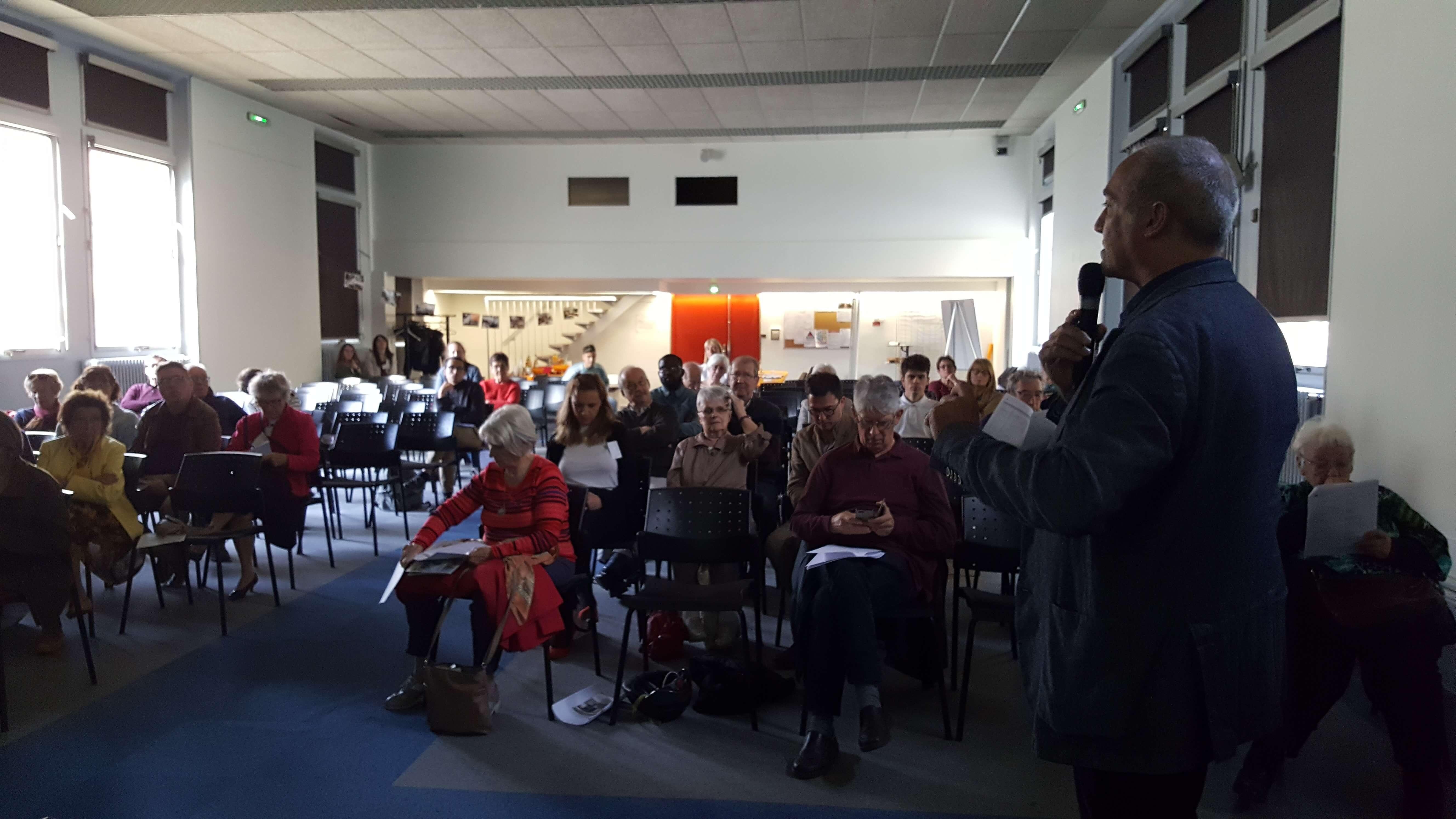 La parole à Thierry Chastagner, adjoint à la Ville Secteur 5 - Sécurité civile