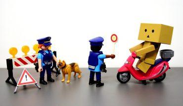 illustration contrôle police